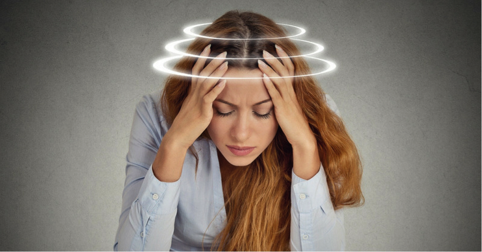 Experiencing dizziness or vertigo